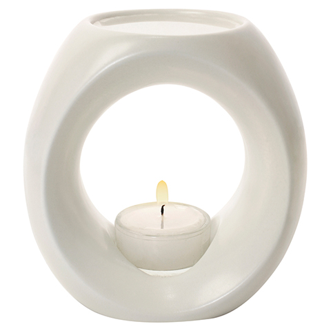 PRIMAVERA Duftlampe Primavera cremeweiß 1 Stück