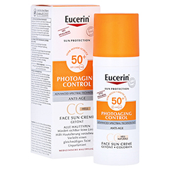 EUCERIN Sun CC Creme getönt hell LSF 50+ 50 Milliliter