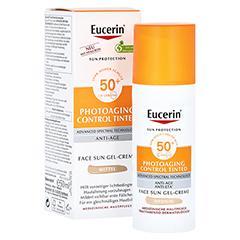 EUCERIN Sun CC Creme getönt mittel LSF 50+ 50 Milliliter