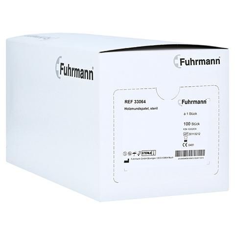 HOLZMUNDSPATEL steril 100 Stück