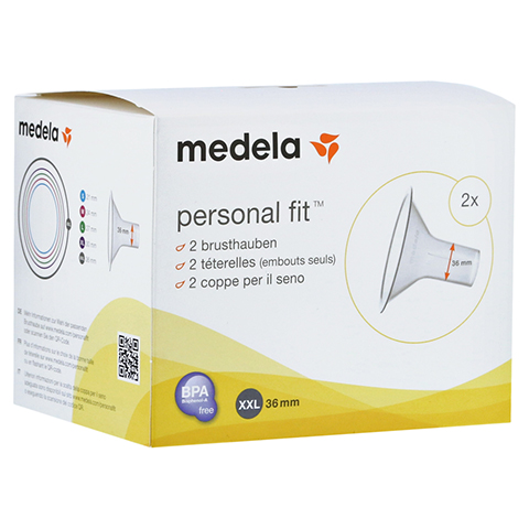 MEDELA Personal Fit Brusthaube Gr.XXL 2 St 1 Packung