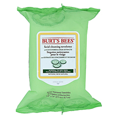 BURT'S BEES Facial Cleansing Towelettes Cucumber & Sage 30 Stück