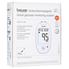 BEURER GL44 Blutzuckermessgerät mg/dl weiß 1 Stück
