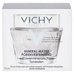 VICHY MASKE porenverfeinernd 75 Milliliter - Vorderseite