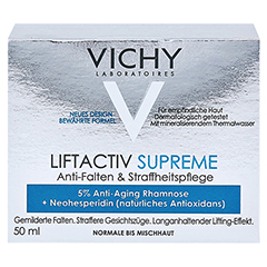 Vichy LIFTACTIV SUPREME Tagescreme normale Haut + gratis Vichy LIFTACTIV SUPREME Serum 10 Konzentrat 7 ml 50 Milliliter - Vorderseite