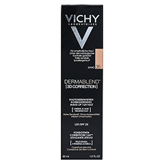 Vichy Dermablend 3D Correction Make-up Fluid Nr. 35 Sand 30 Milliliter - Vorderseite