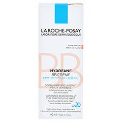 ROCHE-POSAY Hydreane BB Creme mittel bis dunkel 40 Milliliter - Vorderseite