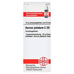 AURUM JODATUM C 30 Globuli 10 Gramm N1 - Vorderseite
