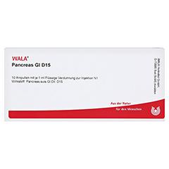 PANCREAS GL D 15 Ampullen 10x1 Milliliter N1 - Vorderseite
