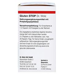 GLUTEN Stop Dr.Wolz Kapseln 60 Stück - Rechte Seite
