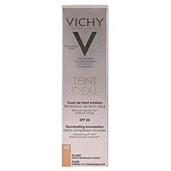 Vichy Teint Ideal Fluid 45 30 Milliliter - Rückseite