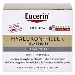 EUCERIN Anti-Age Elasticity+Filler Nachtcreme 50 Milliliter - Rückseite