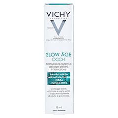 Vichy Slow Âge Augenpflege + gratis Slow Age Nacht 15 ml 15 Milliliter - Rückseite