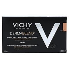 VICHY DERMABLEND Kompakt-Creme 45 10 Milliliter - Rückseite