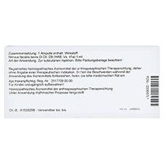 NERVUS FACIALIS GL D 8 Ampullen 10x1 Milliliter N1 - Rückseite