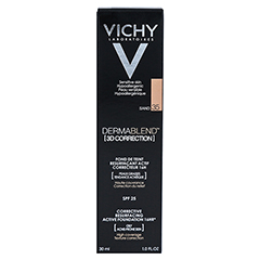 Vichy Dermablend 3D Correction Make-up Fluid Nr. 35 Sand 30 Milliliter - Rückseite