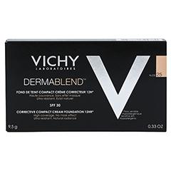 VICHY DERMABLEND Kompakt-Creme 25 10 Milliliter - Rückseite