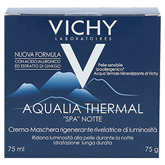VICHY AQUALIA Thermal Nacht Spa + gratis Vichy Mineral 89 Mini 10 ml 75 Milliliter - Rückseite