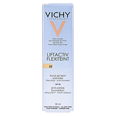 Vichy Liftactiv Flexiteint Make-up Fluid Nr. 25 Nude 30 Milliliter - Rückseite