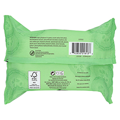 BURT'S BEES Facial Cleansing Towelettes Cucumber & Sage 30 Stück - Rückseite