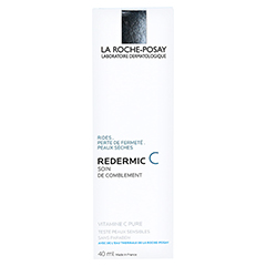 ROCHE-POSAY Redermic C TH Creme 40 Milliliter - Rückseite