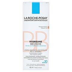 ROCHE-POSAY Hydreane BB Creme mittel bis dunkel 40 Milliliter - Rückseite