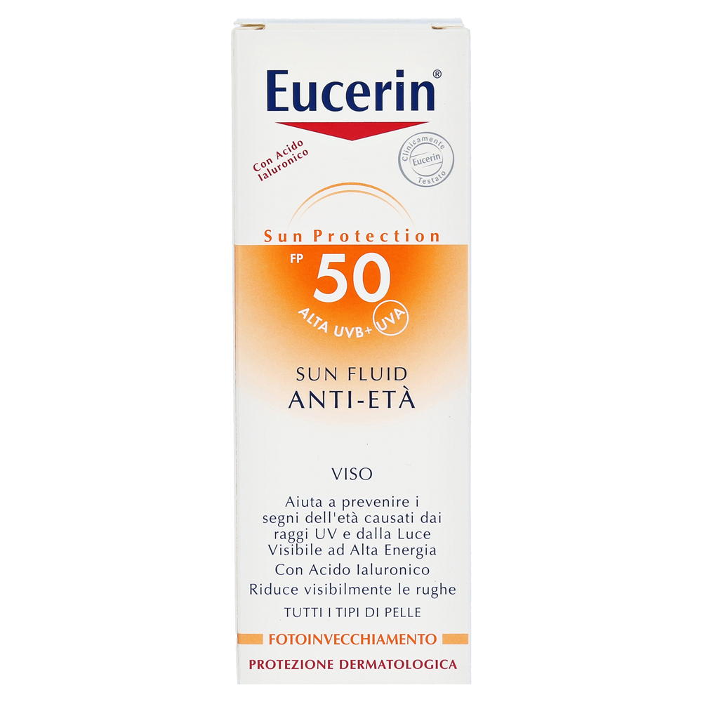 eucerin sun fluid anti age lsf 50 50 milliliter online. Black Bedroom Furniture Sets. Home Design Ideas