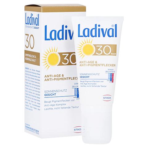 Ladival Sonnenschutz Gesicht Anti-Age & Anti-Pigmentflecken LSF 30 50 Milliliter