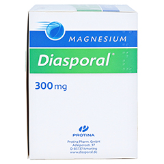 MAGNESIUM DIASPORAL 300 mg Granulat 50 Stück N2 - Rechte Seite