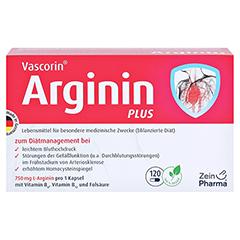 VASCORIN Arginin Plus Kapseln 360 Stück - Vorderseite