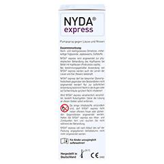 NYDA express Pumplösung 50 Milliliter - Linke Seite