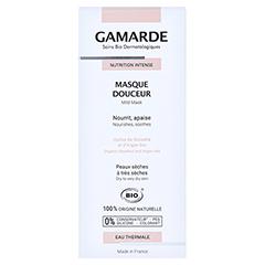 GAMARDE milde Maske 40 Milliliter - Rückseite