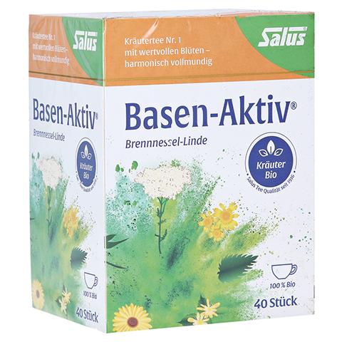 BASEN AKTIV Tee Nr.1 Brennnessel-Linde Bio Salus 40 Stück