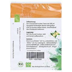 BASEN AKTIV Tee Nr.1 Brennnessel-Linde Bio Salus 40 Stück - Rückseite