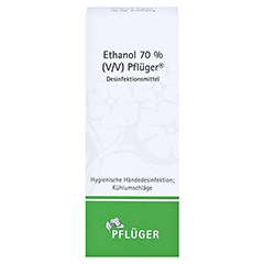 DESINFEKTIONSMITTEL Ethanol 70% V/V Pflüger 200 Milliliter - Vorderseite