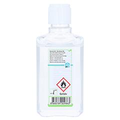 Hexadermal Alkoholisches Händedesinfektionsgel 100 Milliliter - Rückseite