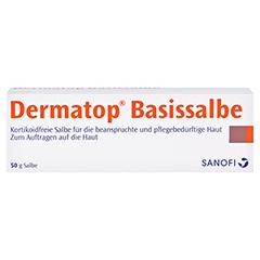 Dermatop Basissalbe 50 Gramm - Vorderseite