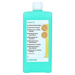 CLEANER Dosierflasche Konzentrat 1000 Milliliter - Vorderseite