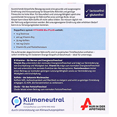 Doppelherz system Vitamin B12 Plus Trinkampullen 10x25 Milliliter - Rückseite