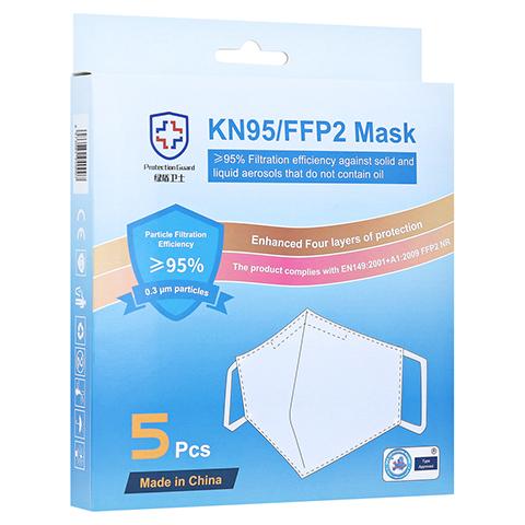 KN95 Atemschutzmaske 5er-Pack 5 Stück