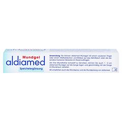 Aldiamed Mundgel zur Speichelergänzung 50 Gramm - Oberseite