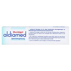 Aldiamed Mundgel zur Speichelergänzung 50 Gramm - Rückseite