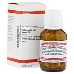 STIBIUM SULFURATUM NIGRUM D 8 Tabletten 200 Stück N2
