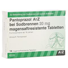 Pantoprazol AbZ bei Sodbrennen 20mg 14 Stück