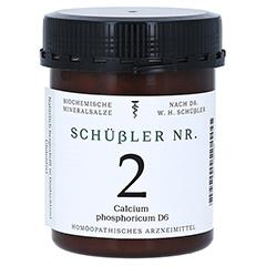 SCHÜSSLER Nr.2 Calcium phosphoricum D 6 Tabletten 1000 Stück