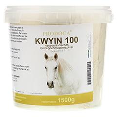 GRÜNLIPPENMUSCHEL KWYIN 100 Pulver f.Pferde 1500 Gramm