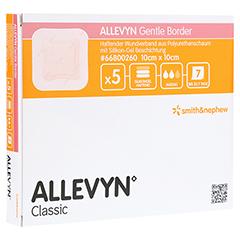 ALLEVYN Gentle Border 10x10 cm Schaumverb. 5 Stück