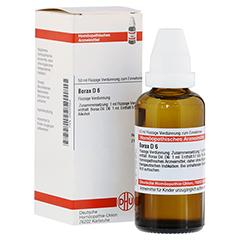 BORAX D 6 Dilution 50 Milliliter N1