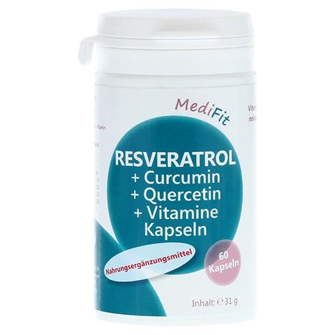 RESVERATROL+CURCUMIN+Quercetin+Vitamine Kapseln 60 Stück