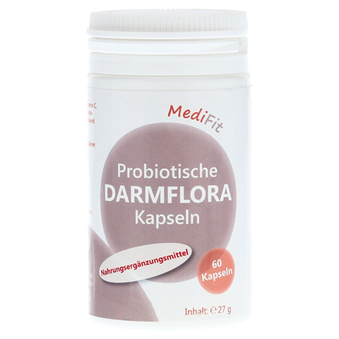 PROBIOTISCHE Darmflora Kapseln MediFit 60 Stück